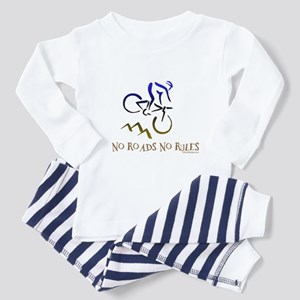 NO ROADS NO RULES Toddler Pajamas