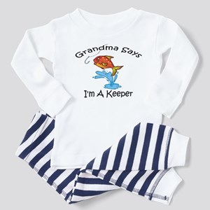 I'm A Keeper Grandma Toddler Pajamas