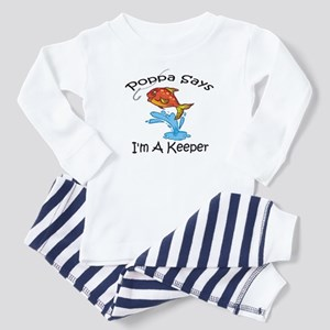 I'm A Keeper Poppa Toddler Pajamas