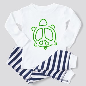 Peace turtle Toddler Pajamas