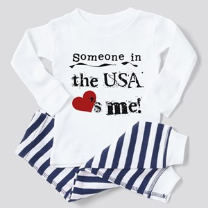 USA Loves Me Toddler Pajamas