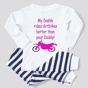8d186341b14 Girl Dirt Bike Toddler Pajamas - CafePress