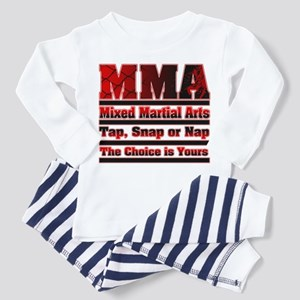 MMA Mixed Martial Arts - 3 Toddler Pajamas