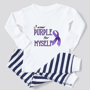 Wear Purple - Myself Toddler Pajamas