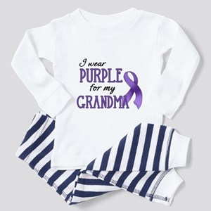 Wear Purple - Grandma Toddler Pajamas