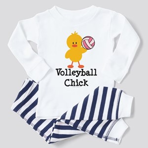 Volleyball Chick Toddler Pajamas
