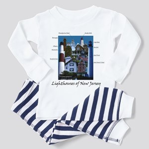 Lighthouses of New Jersey Toddler Pajamas