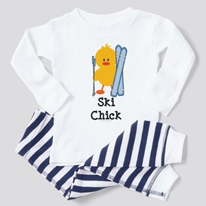 Ski Chick Toddler Pajamas