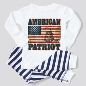 American Patriot Toddler Pajamas