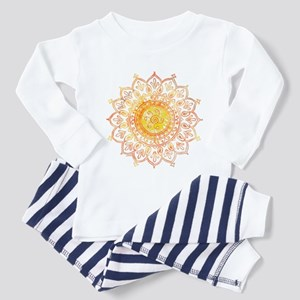 Decorative Sun Toddler Pajamas