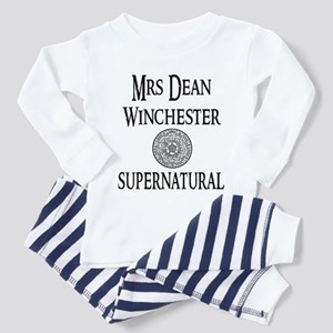 Mrs. Dean Winchester Supernatural Toddler Pajamas