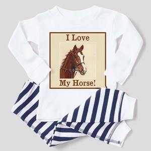 I Love My Horse! Equine Pajamas