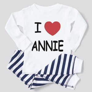 I heart annie Toddler Pajamas