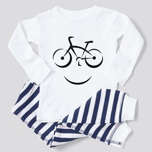 Bike Smile Toddler Pajamas