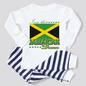 Jamaican Flag Toddler Pajamas - CafePress