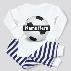 Personalized Soccer Ball Toddler Pajamas