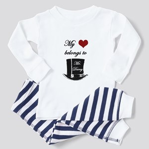 Mr. Darcy Heart Toddler Pajamas