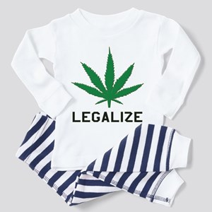 Legalize Marijuana Toddler Pajamas