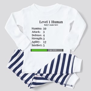 Level 1 Human [Personalize] Pajamas