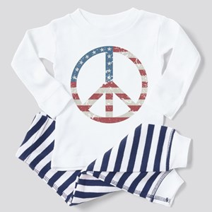 Vintage Peace USA Toddler Pajamas