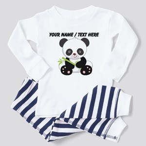 Custom Panda With Bamboo Pajamas