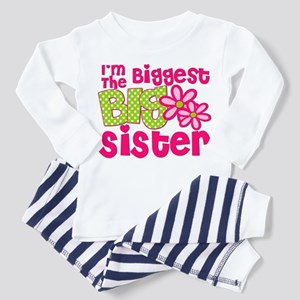 biggest sister pink green2 Pajamas