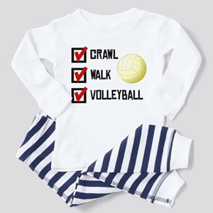 Crawl Walk Volleyball Pajamas