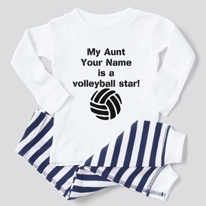 My Aunt Is A Volleyball Star (Custom) Pajamas