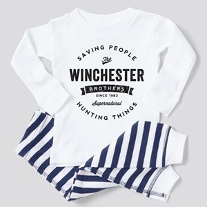 SUPERNATURAL Winchester Bros black Toddler Pajamas