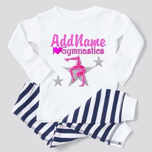 GYMNASTICS LOVE Toddler Pajamas