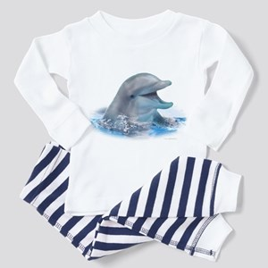 Happy Dolphin Toddler Pajamas