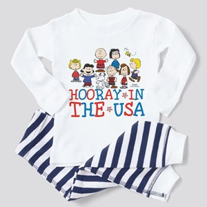 Hooray in the USA Toddler Pajamas