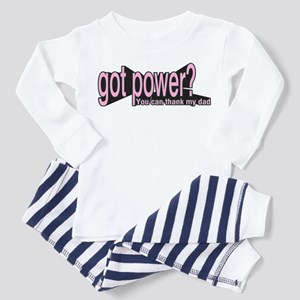 Got Power? for girls Toddler Pajamas