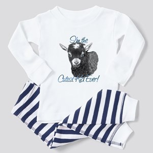 Goat Cutest Kid Ever Toddler Pajamas