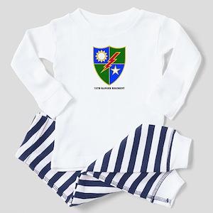 75th Ranger Regimental Crest Toddler T-Shir