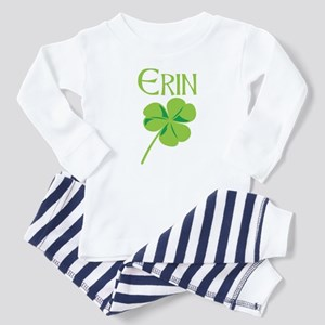 Erin shamrock Toddler Pajamas