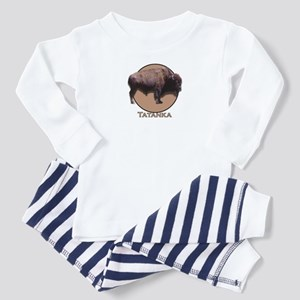 Buffalo (small front only) Toddler Pajamas