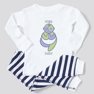 Yoga Baby : Purple & Green Toddler T-Sh