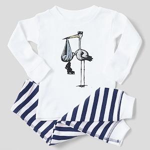 Hockey Stork Toddler Pajamas