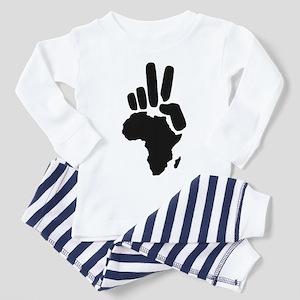 africa darfur peace hand vintage Toddler T-