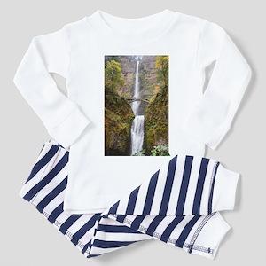 Multnomah Falls Oregon Toddler Pajamas
