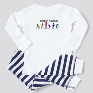 """Create awareness"" Toddler Pajamas"
