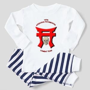 187th Airborne Unit Combat Te Toddler T-Shi