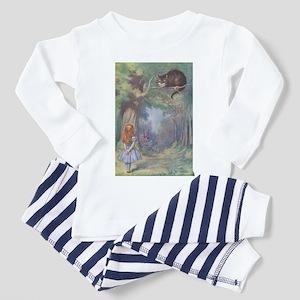 Alice & Cheshire Cat - Toddler Pajamas