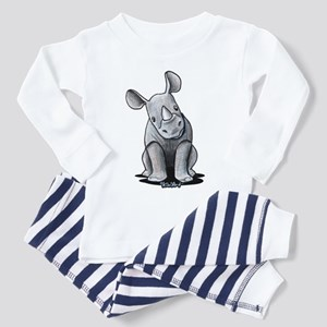 Cute Rhino Toddler Pajamas