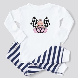 Lil Race Winner Baby Girl Toddler Pajamas