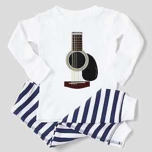 acoustic guitar Toddler Pajamas
