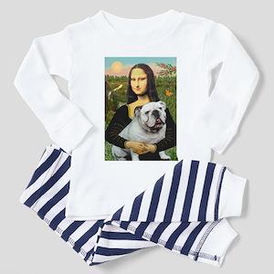 Mona's English Bulldog Toddler Pajamas