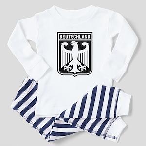Deutschland Eagle Toddler Pajamas