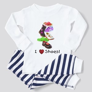 Little Girls love shoes too Toddler Pajamas